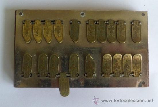 Antigüedades: BEZIQUE especie de calculadora -contadora de puntos para JUEGO DE CARTAS- ORIGEN DE FRANCIA - Foto 4 - 36951094
