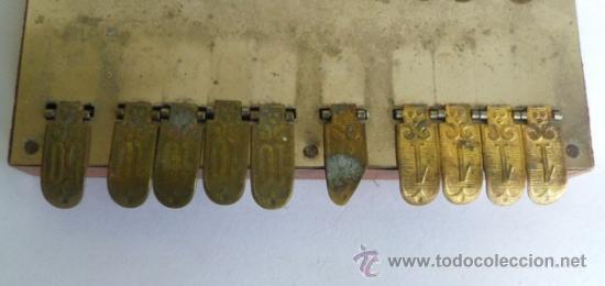Antigüedades: BEZIQUE especie de calculadora -contadora de puntos para JUEGO DE CARTAS- ORIGEN DE FRANCIA - Foto 3 - 36951094
