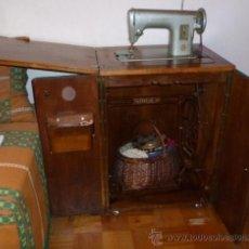 Antigüedades: MÁQUINA DE COSER SINGER. Lote 36999676