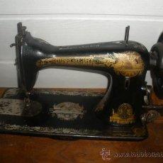 Antigüedades: ANTIGUA CABEZA DE MAQUINA DE COSER SINGER. Lote 37010292