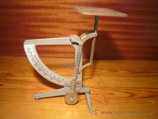 BÁSCULA DE PRECISIÓN (Antigüedades - Técnicas - Medidas de Peso - Básculas Antiguas)