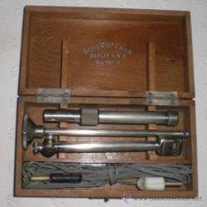 Antigüedades: ANTROSCOPIO ELÉCTRICO DE GEORG WOLF (BERLIN). INSTRUMENTO MUY RARO. CAJA ORIGINAL. MEDICINA. CIRUGIA. Lote 37131015