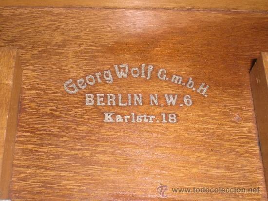 Antigüedades: Antroscopio eléctrico de Georg Wolf (Berlin). Instrumento muy raro. Caja original. Medicina. Cirugia - Foto 2 - 37131015