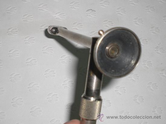 Antigüedades: Antroscopio eléctrico de Georg Wolf (Berlin). Instrumento muy raro. Caja original. Medicina. Cirugia - Foto 5 - 37131015