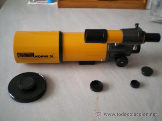 Antigüedades: Telescopio Astronomico-Terrestre KONUS 80mm.Diametro,400mm Focal NUEVO - Foto 2 - 37145468