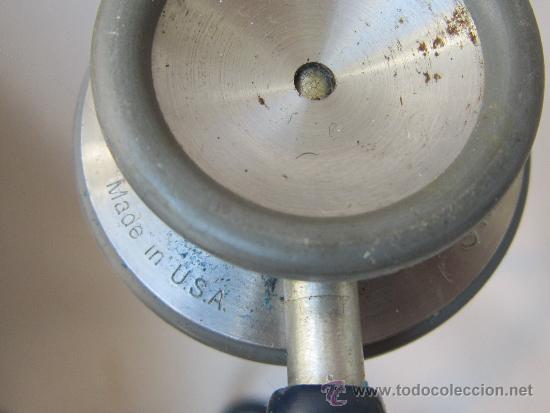 Antigüedades: FONENDOSCOPIO LITTMANN MADE IN USA - Foto 2 - 37175500