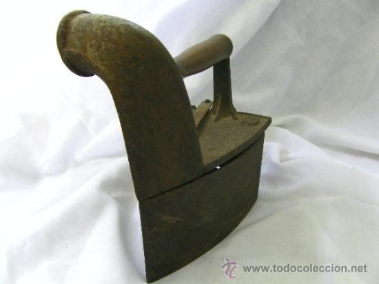 Antigüedades: PLANCHA CARBON - Foto 4 - 37184786