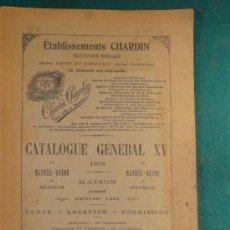 Antigüedades: CATALOGO APARATOS MEDICOS ELECTRICOS - 1905 - CHARLES CHARDIN - MUY ILUSTRADO - 184 PAGS. - MEDICINA. Lote 37184664
