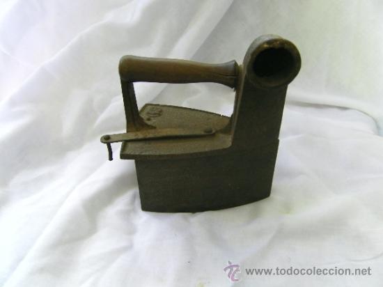 PLANCHA CARBON (Antigüedades - Técnicas - Planchas Antiguas - Carbón)