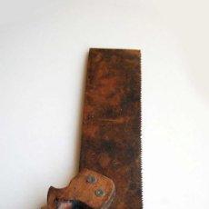 Antigüedades: SERRUCHO SIERRA ANTIGUO HOJA DE 25,5 CM HERRAMIENTA. Lote 35097488