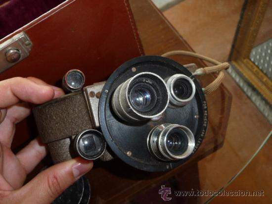 Antigüedades: Antigua camara grabadora filmadora, marca Revere Eight, desconozco del tema. - Foto 6 - 37243368