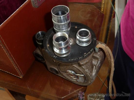 Antigüedades: Antigua camara grabadora filmadora, marca Revere Eight, desconozco del tema. - Foto 8 - 37243368