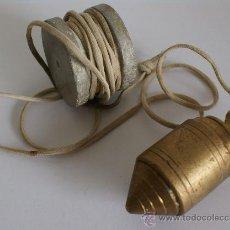 Antigüedades: ANTIGUO NIVEL DE ALBAÑIL. Lote 37275574