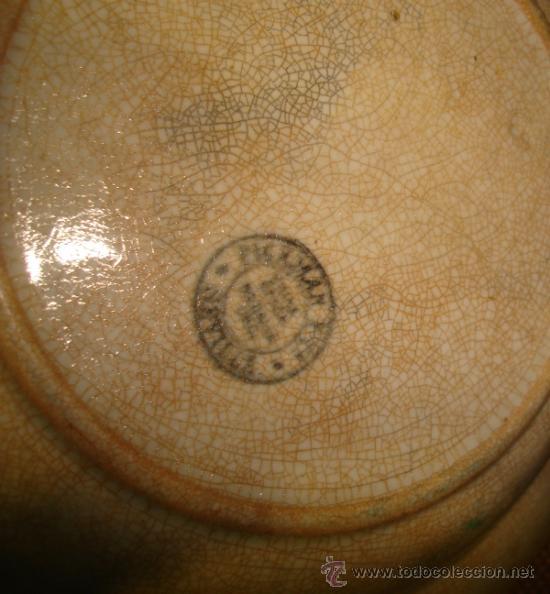 Antigüedades: PLATO SOPERO. COMPAÑIA PICKMAN. 23CM DIAMETRO. VER FOTOS - Foto 2 - 37265146