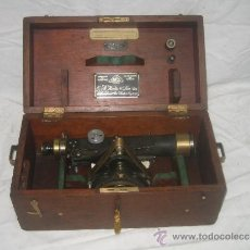 Antigüedades: TEODOLITO E. R. WATTS & SONS LTD. LONDON Nº 43287. Lote 37389097