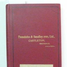 Antiquitäten - TWEEDALES & SMALLEY LTD. - CASTLETON 1937 - CATÁLOGO DE MAQUINARIA TEXTIL - 37428697