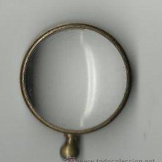 Antigüedades: ANTIGUA LUPA EN BRONCE.3 CMS DE DIAMETRO. Lote 37442179