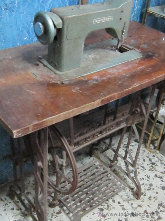 MAQUINA DE COSER VERTEHIM (Antigüedades - Técnicas - Máquinas de Coser Antiguas - Wertheim )