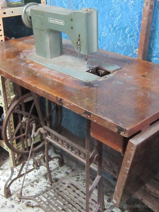 Antigüedades: MAQUINA DE COSER VERTEHIM - Foto 2 - 37507819