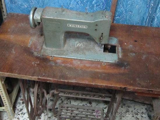 Antigüedades: MAQUINA DE COSER VERTEHIM - Foto 5 - 37507819