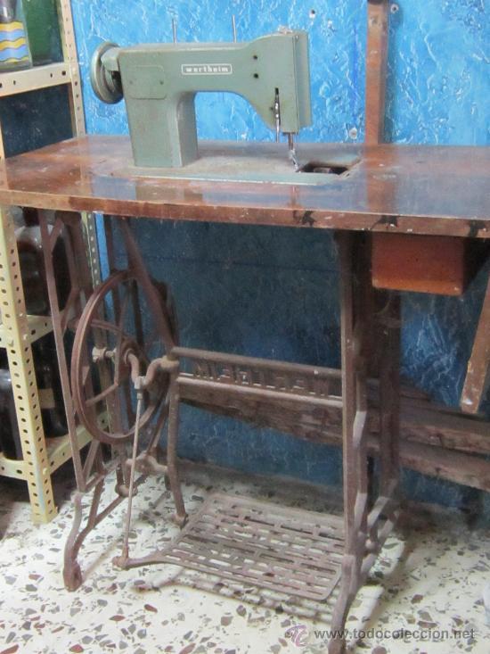 Antigüedades: MAQUINA DE COSER VERTEHIM - Foto 6 - 37507819