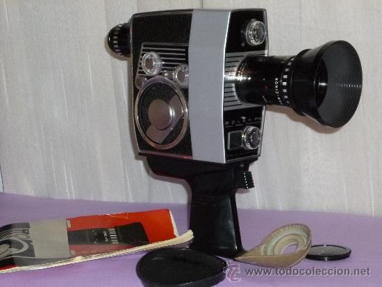 TOMAVISTAS BOLEX PAILLARD. MODELO BOLEX P4 (Antigüedades - Técnicas - Aparatos de Cine Antiguo - Cámaras de Super 8 mm Antiguas)