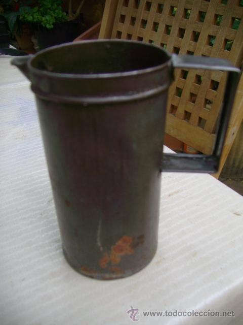 Antigüedades: medida cuarto de litro cuñado valencia 1/4 litro - Foto 4 - 37643125