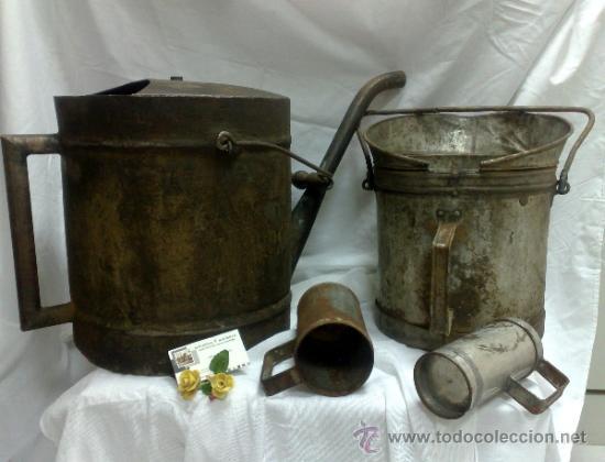 Antigüedades: 1ª 1/2 XX-S. LOTE DE RECIPIENTES PARA DISPENSAR CARBURANTE , PROCEDENTES DE ANTIGUA GASOLINERA. - Foto 15 - 37720549