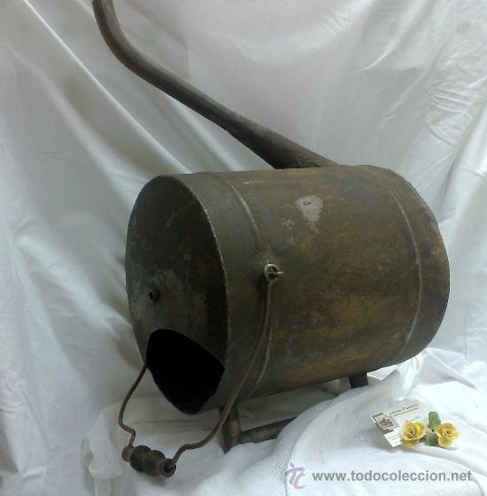 Antigüedades: 1ª 1/2 XX-S. LOTE DE RECIPIENTES PARA DISPENSAR CARBURANTE , PROCEDENTES DE ANTIGUA GASOLINERA. - Foto 10 - 37720549