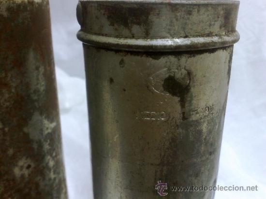 Antigüedades: 1ª 1/2 XX-S. LOTE DE RECIPIENTES PARA DISPENSAR CARBURANTE , PROCEDENTES DE ANTIGUA GASOLINERA. - Foto 30 - 37720549