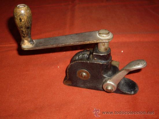 Antigüedades: MAQUINA FLEJADORA - FLEJES METALICOS - - Foto 9 - 37834813