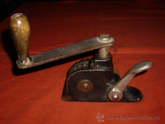 Antigüedades: MAQUINA FLEJADORA - FLEJES METALICOS - - Foto 6 - 37834813