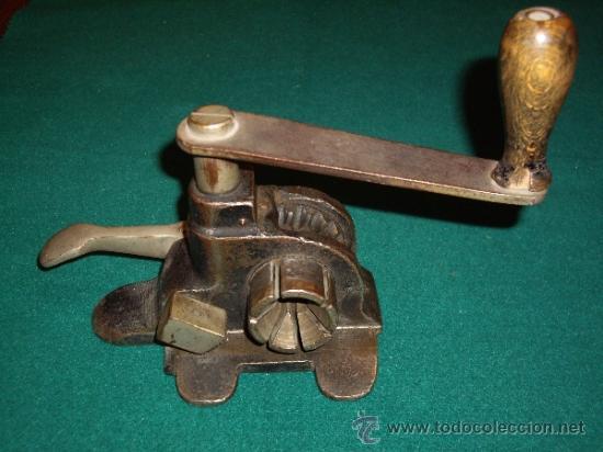 Antigüedades: MAQUINA FLEJADORA - FLEJES METALICOS - - Foto 3 - 37834813