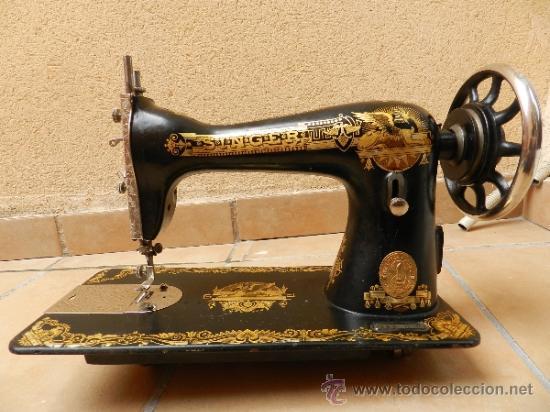 "Maquina de coser singer "" la esfinge"", año de f - Vendido"