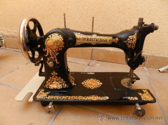 Antigua maquina de coser wertheim rapida. 1920 - Vendido