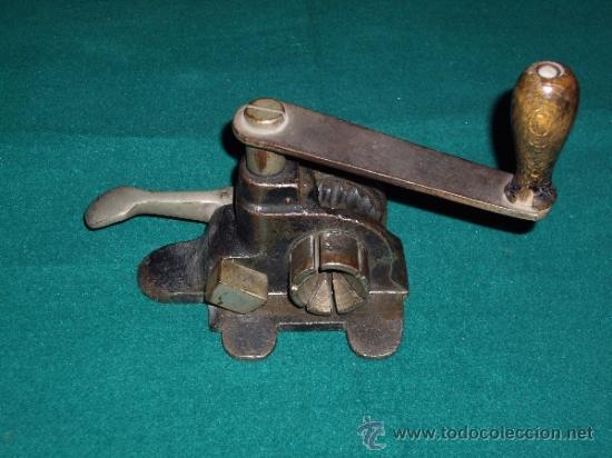 Antigüedades: MAQUINA FLEJADORA - FLEJES METALICOS - - Foto 2 - 37834813