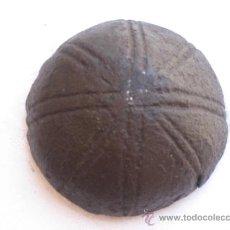 Antigüedades: CLAVO ANTIGUO GRANDE DE COPA, EN HIERRO FORJADO. SIGLO XV-XVI -. Lote 37855215