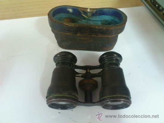 PRISMATICOS ANTIGUOS (Antigüedades - Técnicas - Instrumentos Ópticos - Prismáticos Antiguos)