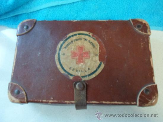 Antigüedades: ANTIGUO BOTIQUIN DE CARTON - Foto 3 - 37971639