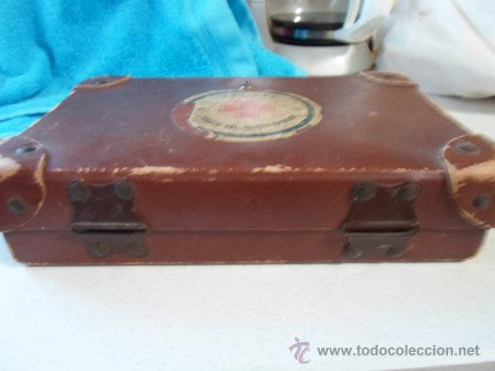 Antigüedades: ANTIGUO BOTIQUIN DE CARTON - Foto 5 - 37971639