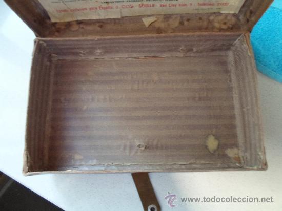 Antigüedades: ANTIGUO BOTIQUIN DE CARTON - Foto 8 - 37971639