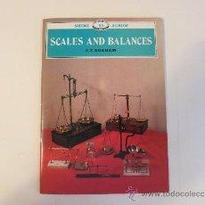 Antigüedades: ESCALAS Y BALANZAS. Lote 42648209