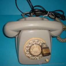 Teléfonos: ANTIGUO TELEFONO DE COMPAÑIA TELEFONICA NACIONAL DE ESPAÑA, CON MARCADOR DE DISCO. Lote 37980772