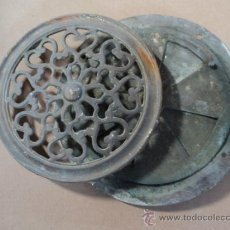 Antigüedades: MIRILLA DE BRONCE SIGLO XIX.. Lote 94631518