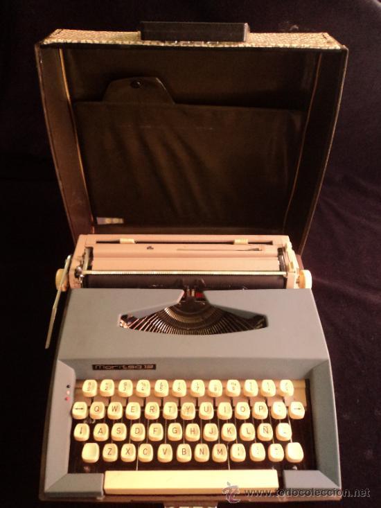 MAQUINA PORTATIL. EUROPA DEL ESTE. MARITZA. DIFICIL DE ENCONTRAR. INSTURCCIONES. . (Antigüedades - Técnicas - Máquinas de Escribir Antiguas - Otras)