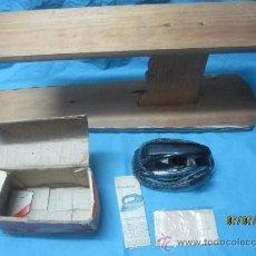 Antigüedades: ANTIGUA Y PEQUEÑA PLANCHA ELECTRICA AUTOMATICA ZOELLER AZN GERMANI 110 240 V, CON CAJA ORIGINAL. Lote 38081971