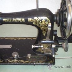 Antigüedades: MAQUINA DE COSER DE MANIVELA ALEMANA. Lote 38095511