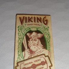 Antigüedades: HOJA DE AFEITAR VIKING (CUCHILLA). Lote 38115122