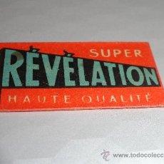 Antigüedades: HOJA DE AFEITAR REVELATION (CUCHILLA). Lote 38115143