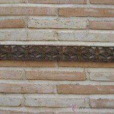 Antigüedades: ADORNO ANTIGUO DE BRONCE. 56,5 CMS. LARGO.. Lote 38233861